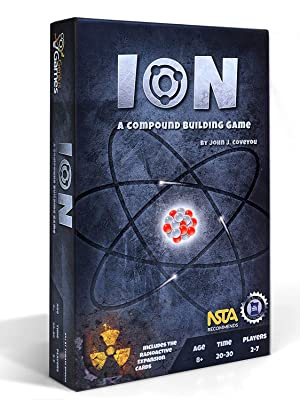 Amazon com: Ion: A Compound Building Game: Toys & Games
