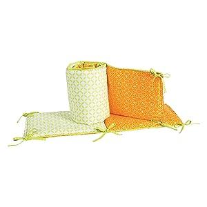 Amazon.com: Tendencia Lab Crib Parachoques, Savannah/Levi: Baby