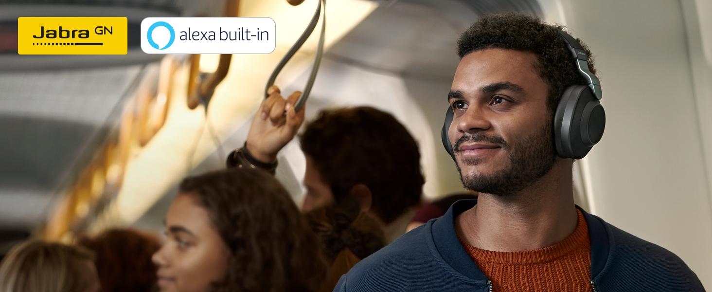 Wireless noise cancelling headphones with SmartSound | Jabra Elite 85h