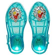 e931dc5d1fad Disney Princess Ariel Light Up Jelly Shoes - Fits sizes 9-13