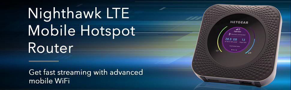 NETGEAR MR1100-100EUS Nighthawk 4G LTE Mobile Hotspot