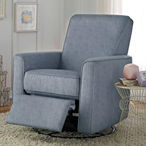 harmony swivel glider recliner carlton dove