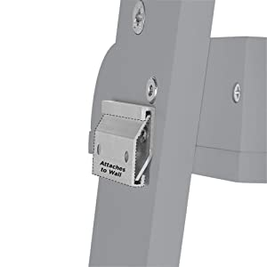 attached to wall bracket