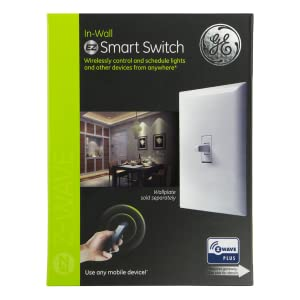 Ge White Add On Toggle Style Z Wave Zigbee Bluetooth