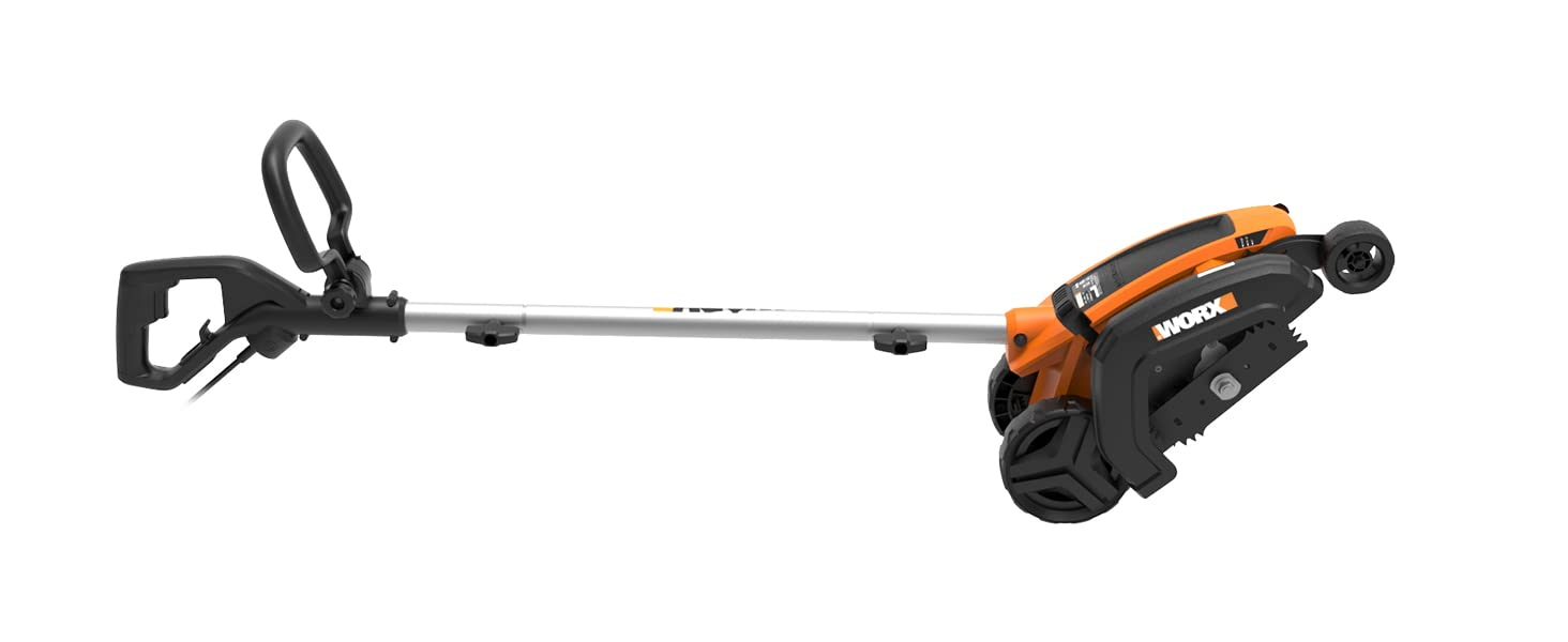 WORX WG896 12 Amp 2-in-1 Electric Lawn Edger, 7.5-Inch