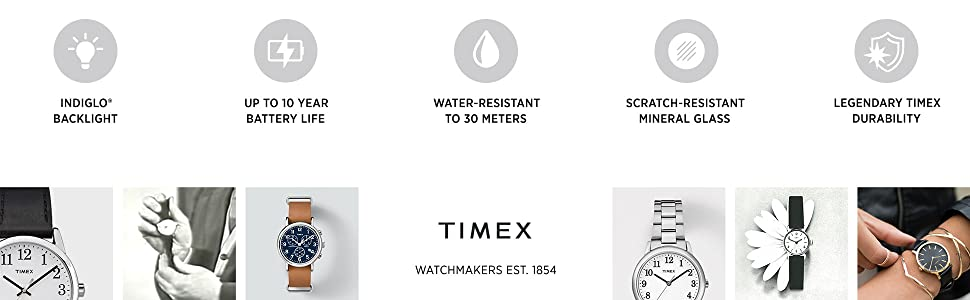 Timex watchmaker established 1854