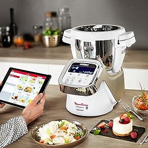 Moulinex i-Companion HF9001 - Robot de cocina Bluetooth 13 ...