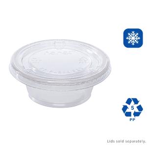 Karat 1 oz Squat Clear  PP Portion Cups