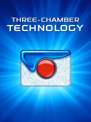 three chamber technology powerball
