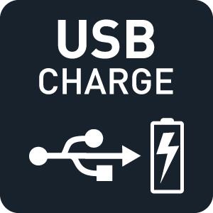 USB charge, radio, grundig
