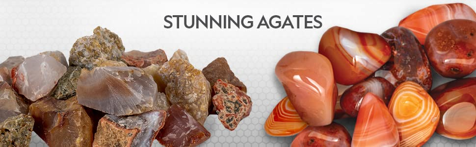 national geographic agate rock refill kit