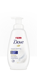 Dove Foaming Body Wash Deep Moisture leaves your skin feeling clean and nourished