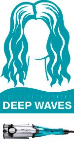 teal wavers; teal hairwavers