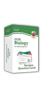 GCSE AQA Biology Revision Question Cards