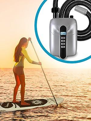 Amazon.com: Digital Electric Air Pump Compressor - 110W 12 ...