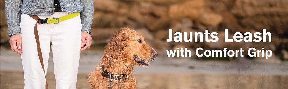 Jaunts Leash with Comfort Grip