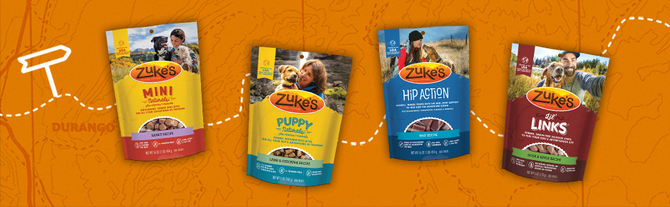 Zuke's treat bags