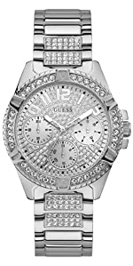 guess; guess watches; guess logo; guess accessories; guess watch; lady frontier watch; crystal watch