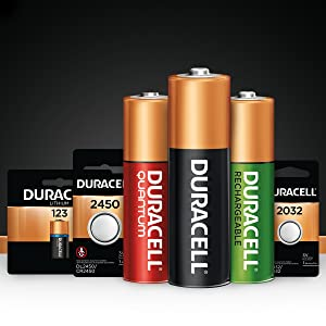 Duracell CopperTop, Quantum, Rechargeable, Chargers, Hearing Aid and Coin Button batteries