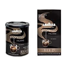 lavazza, espresso, italiano, ground