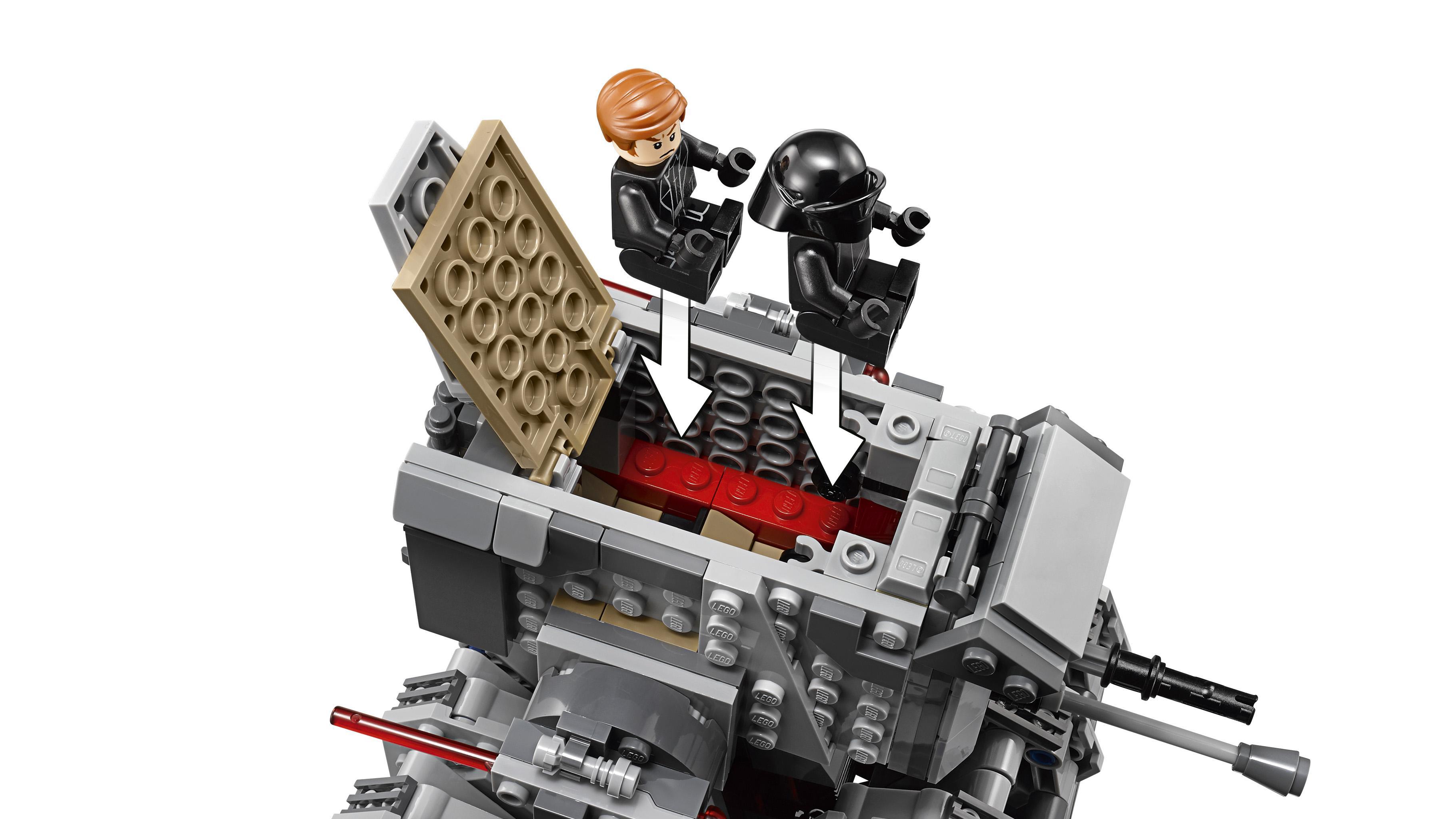 LEGO Star Wars - First Order Heavy Scout Walker, Juguete