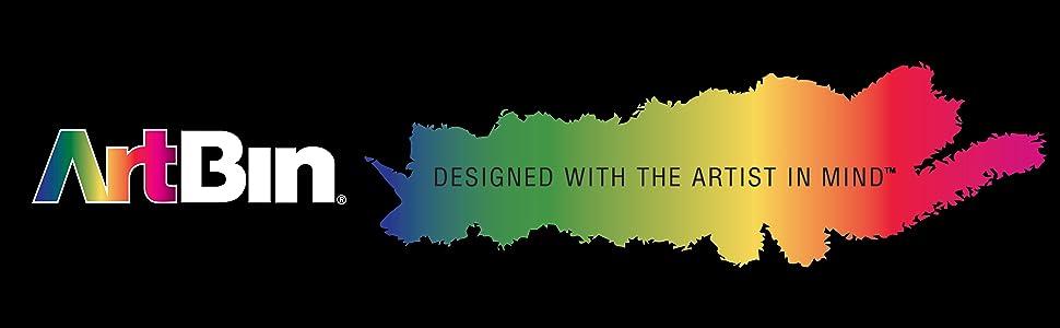 Designed, Artist, ArtBin, Rainbow, Drawing, Crafts, Art, Organization, Storage, Supplies