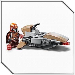 LEGO Star Wars 75267-mandalorianer Battle Pack-Speeder-BIKE