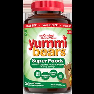 Yummi Bears SuperFoods Value Size