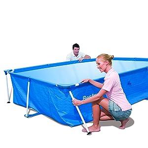 Bestway 56411 Piscina Steel Pro Pool Set facile installazione