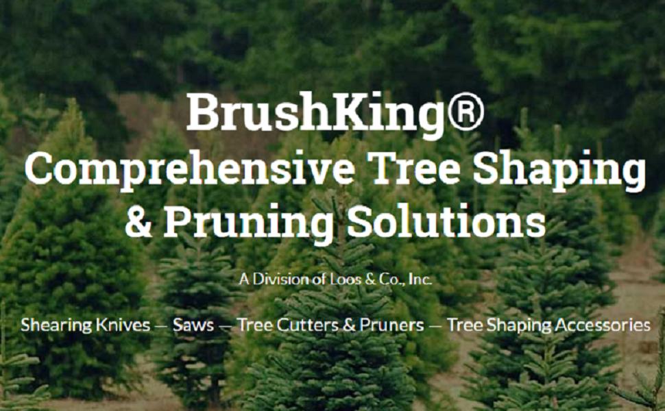 Loos /& Co BrushKing Division 83RB16//10 Shearing Knife 26 Length 10 Handle