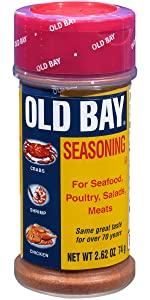 9a9590801 Amazon.com : OLD BAY Seasoning, 6 oz : Seafood Seasoning : Grocery ...