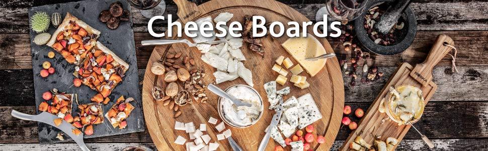 Boska Holland European Oak Wood Cheese Board 12 x 4 Rectangle Paddle Board Life Collection