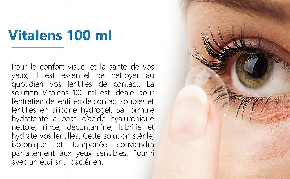 Produit pour lentilles de contact