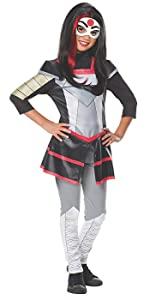 girl's superhero costume katana