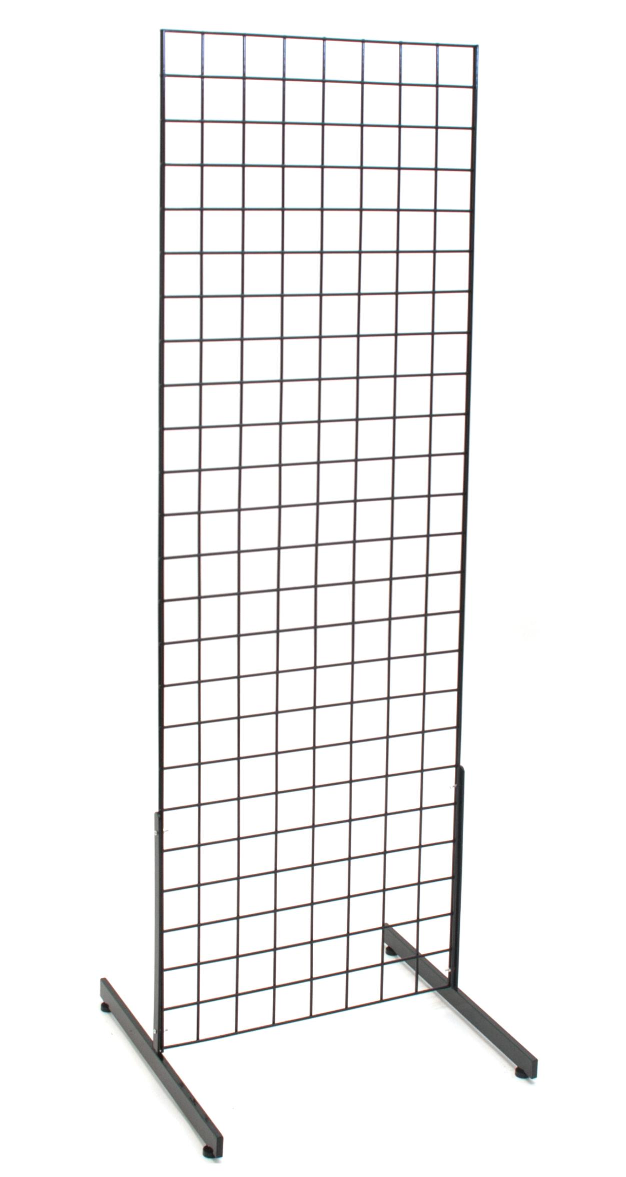 Pack of 25 New Retails Black 12 Metal Grid Wall Shelf Bracket