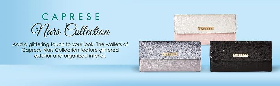 Caprese Nars Women's Wallet (Black Mt)