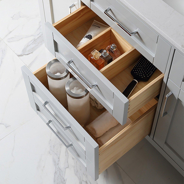 Ove Decors Tahoe 48g Marble Top Bathroom Single Sink