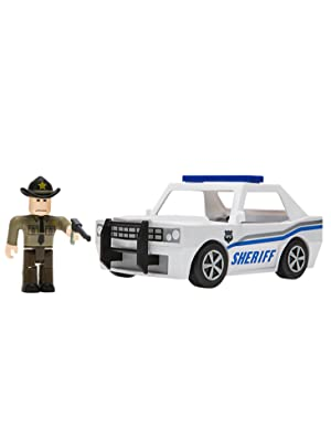 How To Make A Car Roblox 2019 Amazon Com Roblox Action Collection The Neighborhood Of Robloxia Patrol Car Vehicle Includes Exclusive Virtual Item Toys Games