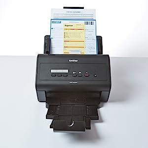 high speed document scanner network