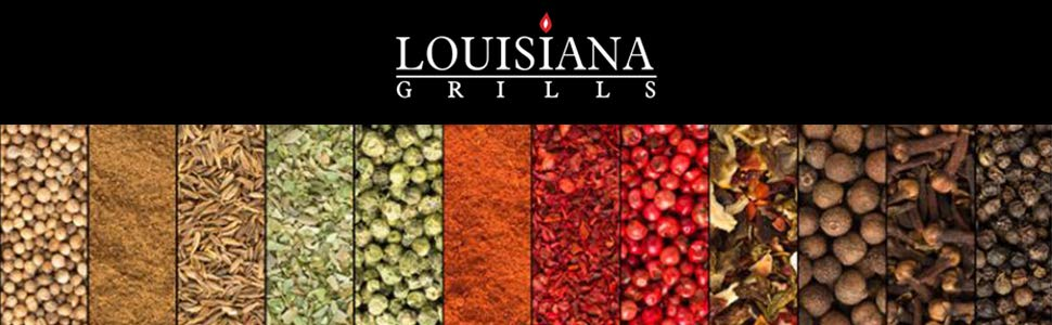 21.5 Louisiana Grills Mount Spacing Stainless Steel Deluxe Front Shelf