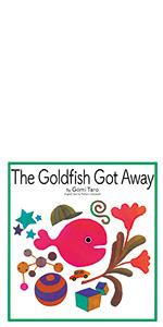 英語版 きんぎょがにげた goldfish Goldfish Got away えいご えほん
