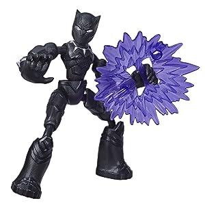 Bendy Figures; Black Panther;