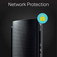 TP-LINK DOCSIS 3 0 Cable Modem, 343Mbps Download and 131Mbps Upload  (TC-7610)