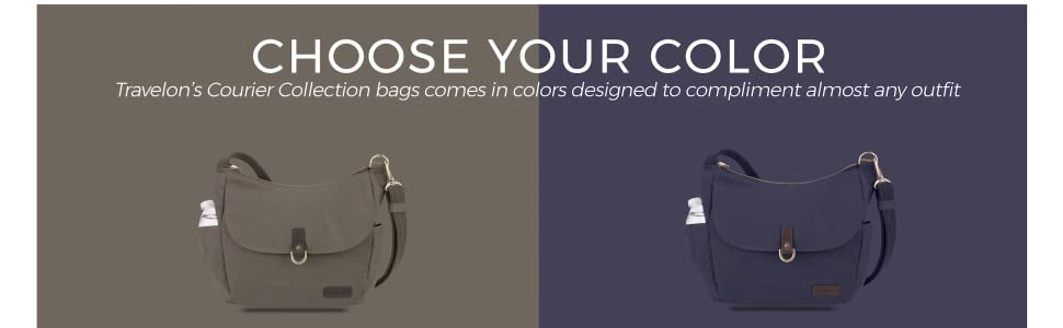 Travelon Anti Theft Courier Bucket Hobo Bag | Products