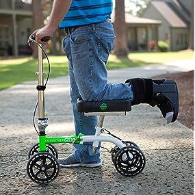 KneeRover GO knee scooter