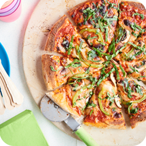 Image of pizza pie.