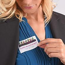 Badges autocollants - Collez