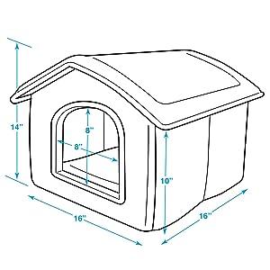 Amazon.com : Best Pet Supplies Portable Indoor Pet House