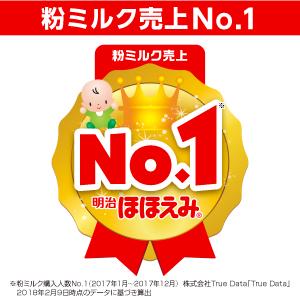 粉ミルク売上NO.1