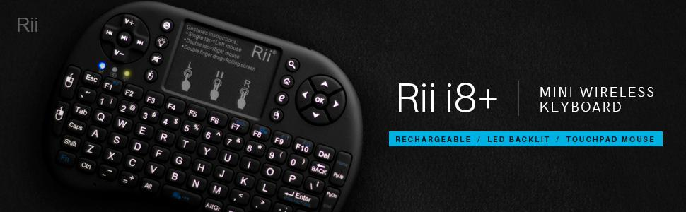 f402fd0c478 From the manufacturer. View larger. Read more. Rii i8+ Wireless Mini  Keyboard